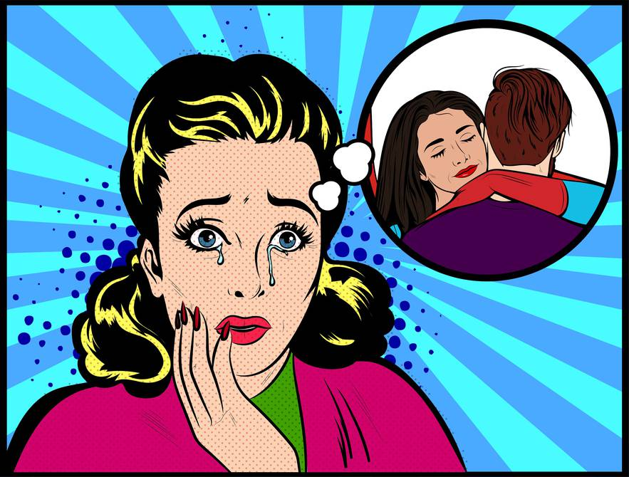 Как перестать ревновать парня или мужа и накручивать себя