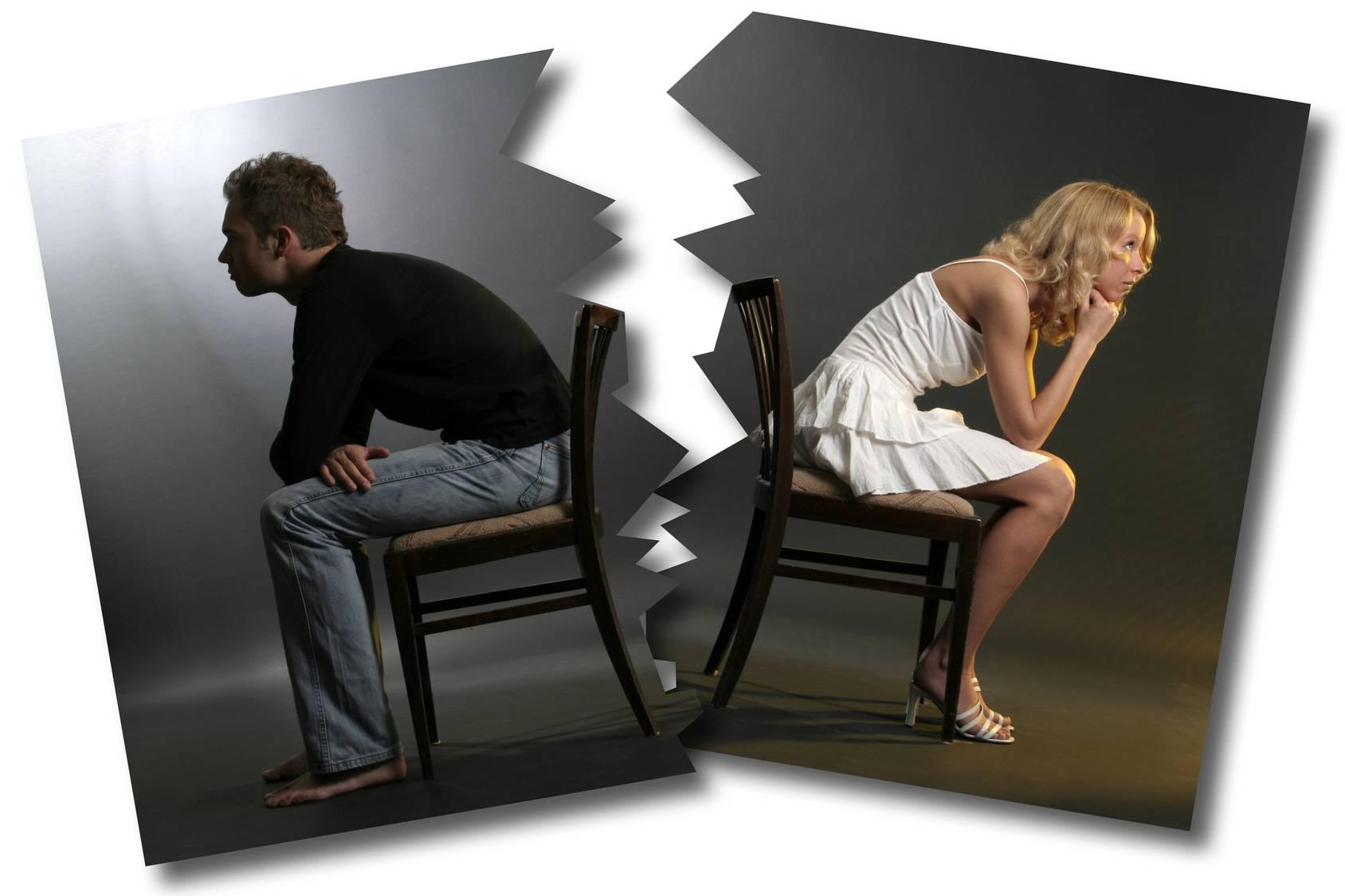 как расстаться с любящим мужчиной