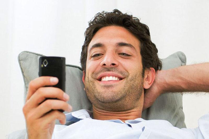 СМС парню веселые